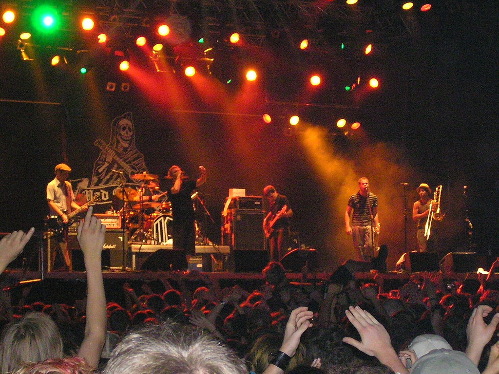 The Mad Caddies in 2006