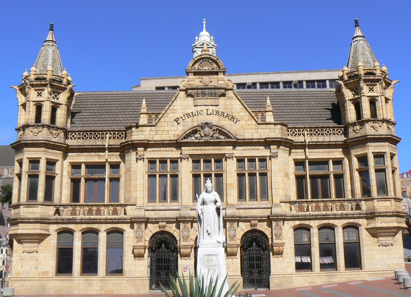 Port Elizabeth South Africa  city images : Main Library, Port Elizabeth, South Africa Wikimedia ...