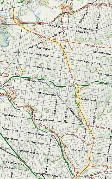 The Ring Road Map
