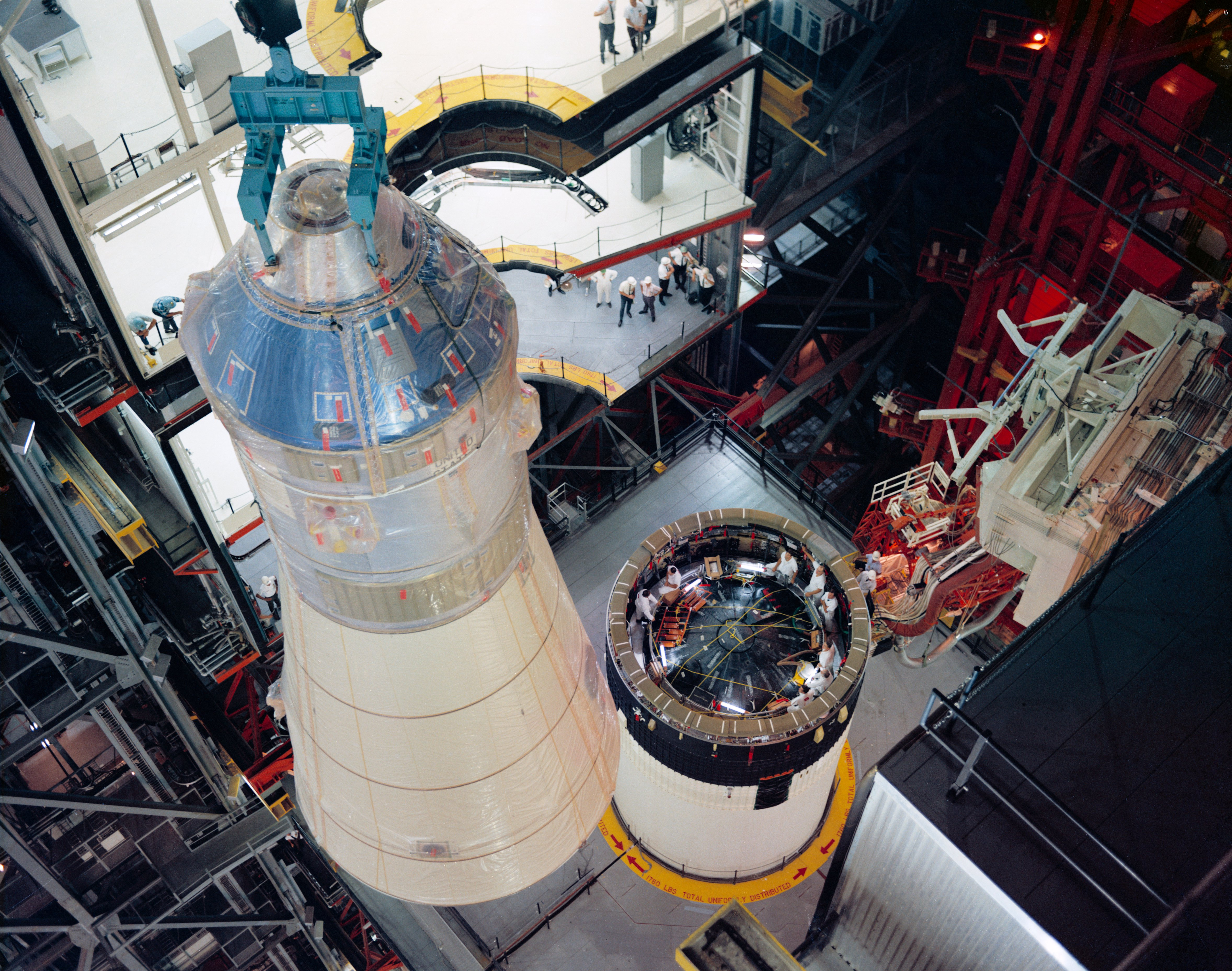 File Mating Of Apollo 8 Spacecraft With Saturn V Jpg