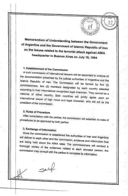 FileMemorandum Of Understanding Between Argentina And IranJpg