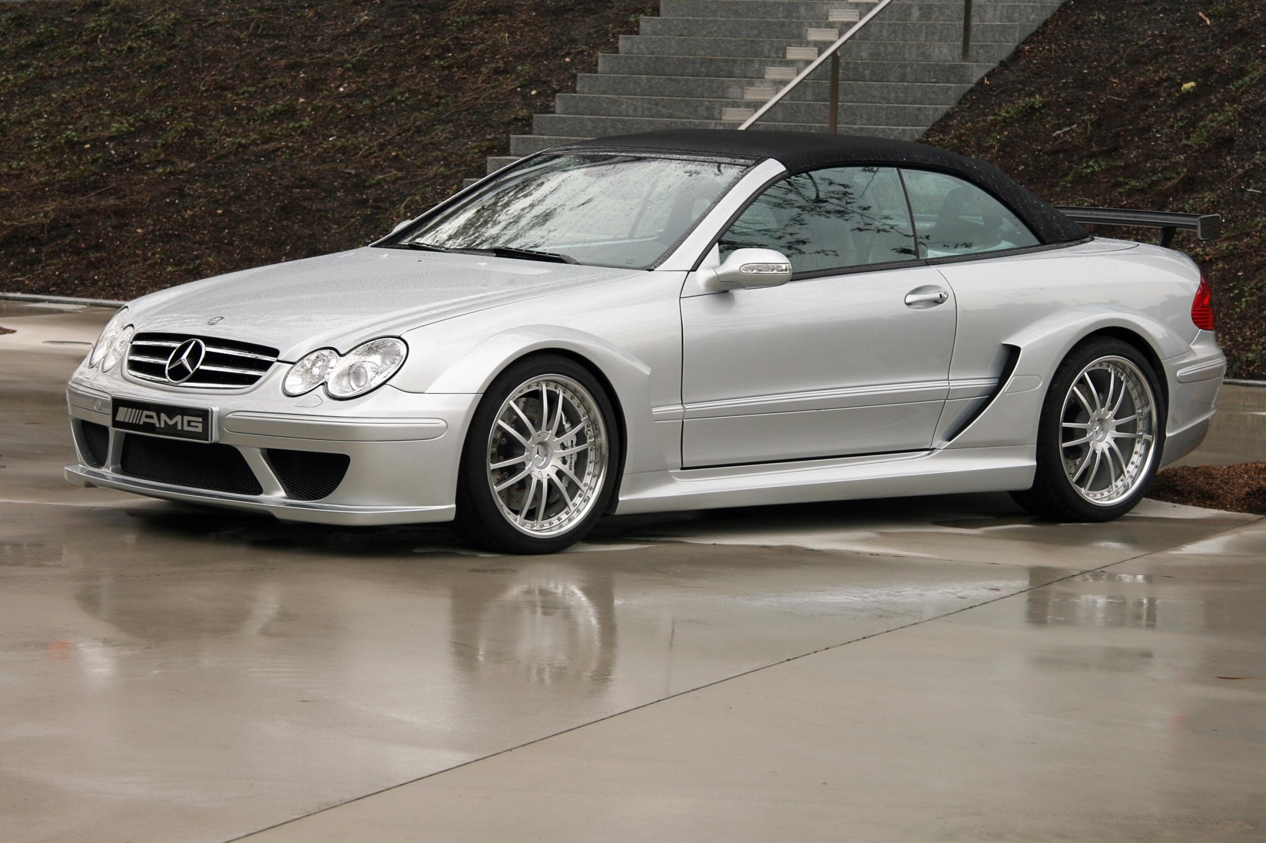 Mercedes clk фото