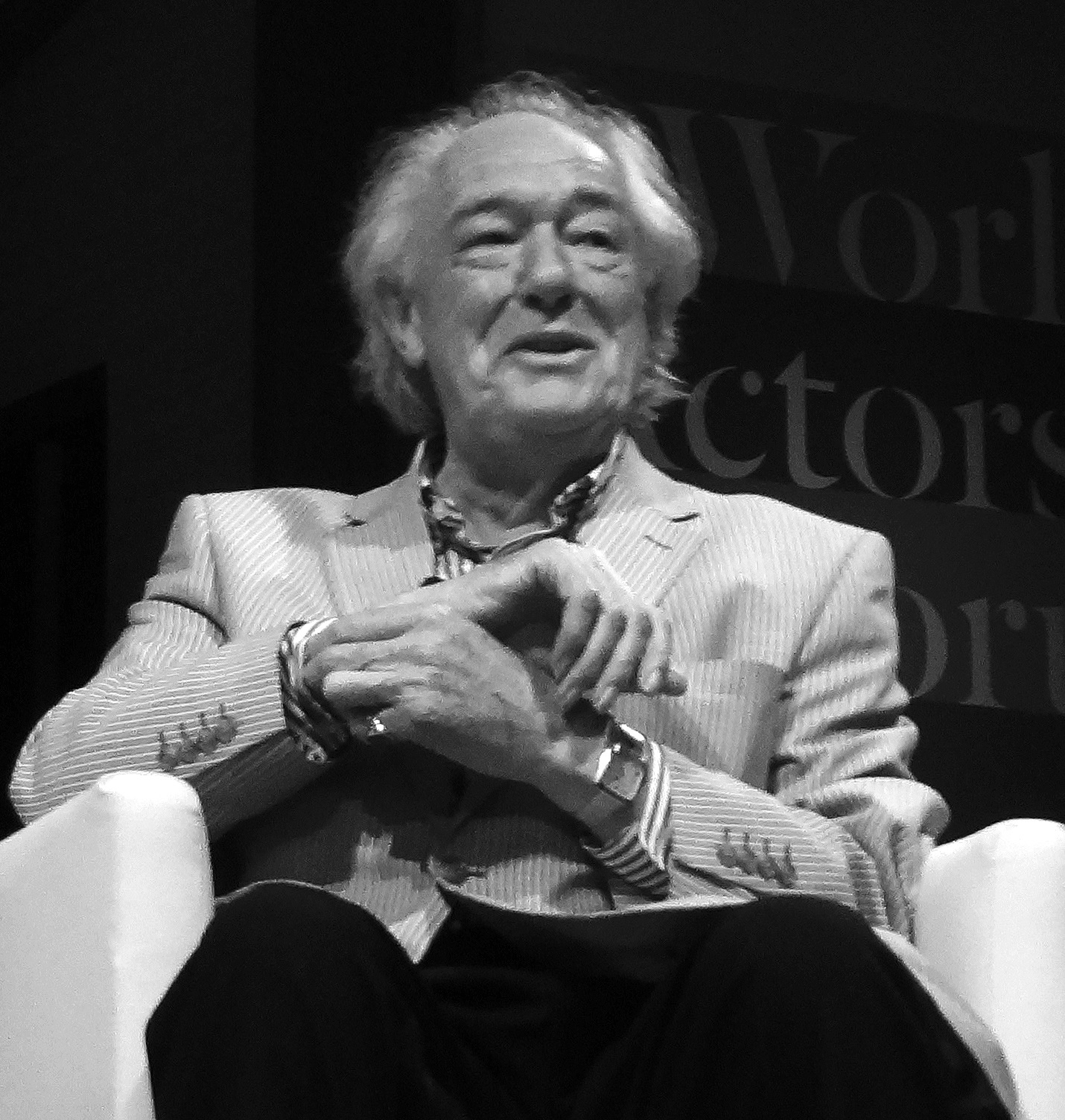 The 77-year old son of father Edward Gambon and mother Mary Hoare Michael Gambon in 2018 photo. Michael Gambon earned a  million dollar salary - leaving the net worth at 15 million in 2018
