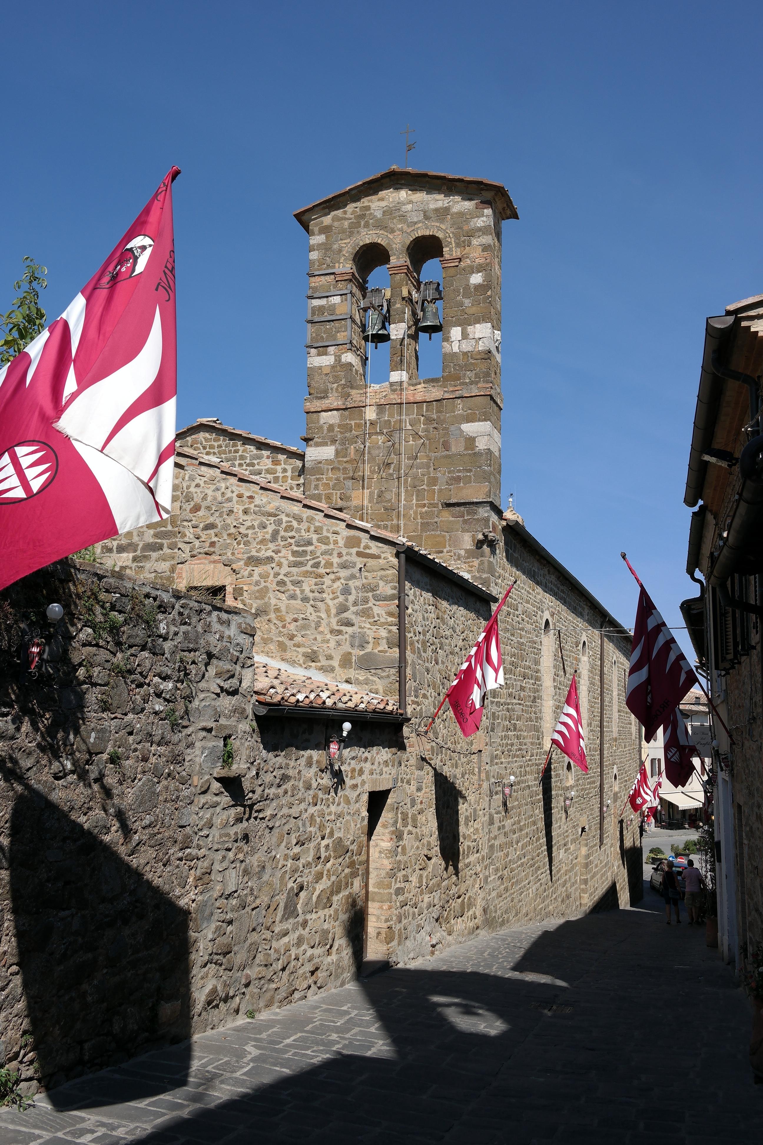 Montalcino - Campanile della Chiesa di Sant'Egidio