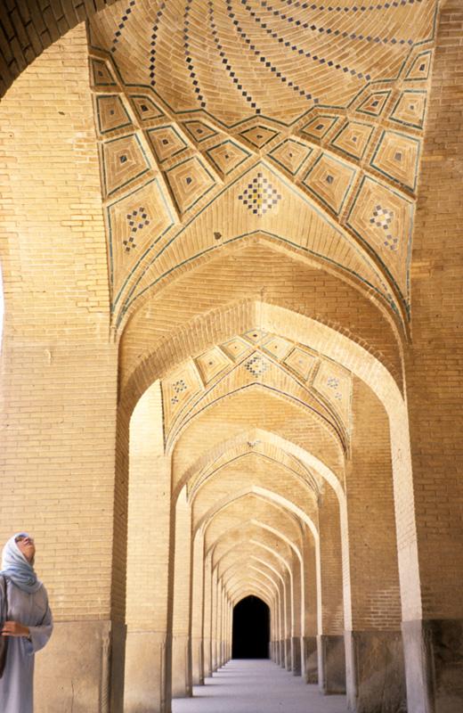Nasirolmolk arcade shiraz مسجد نصیرالملک شیراز