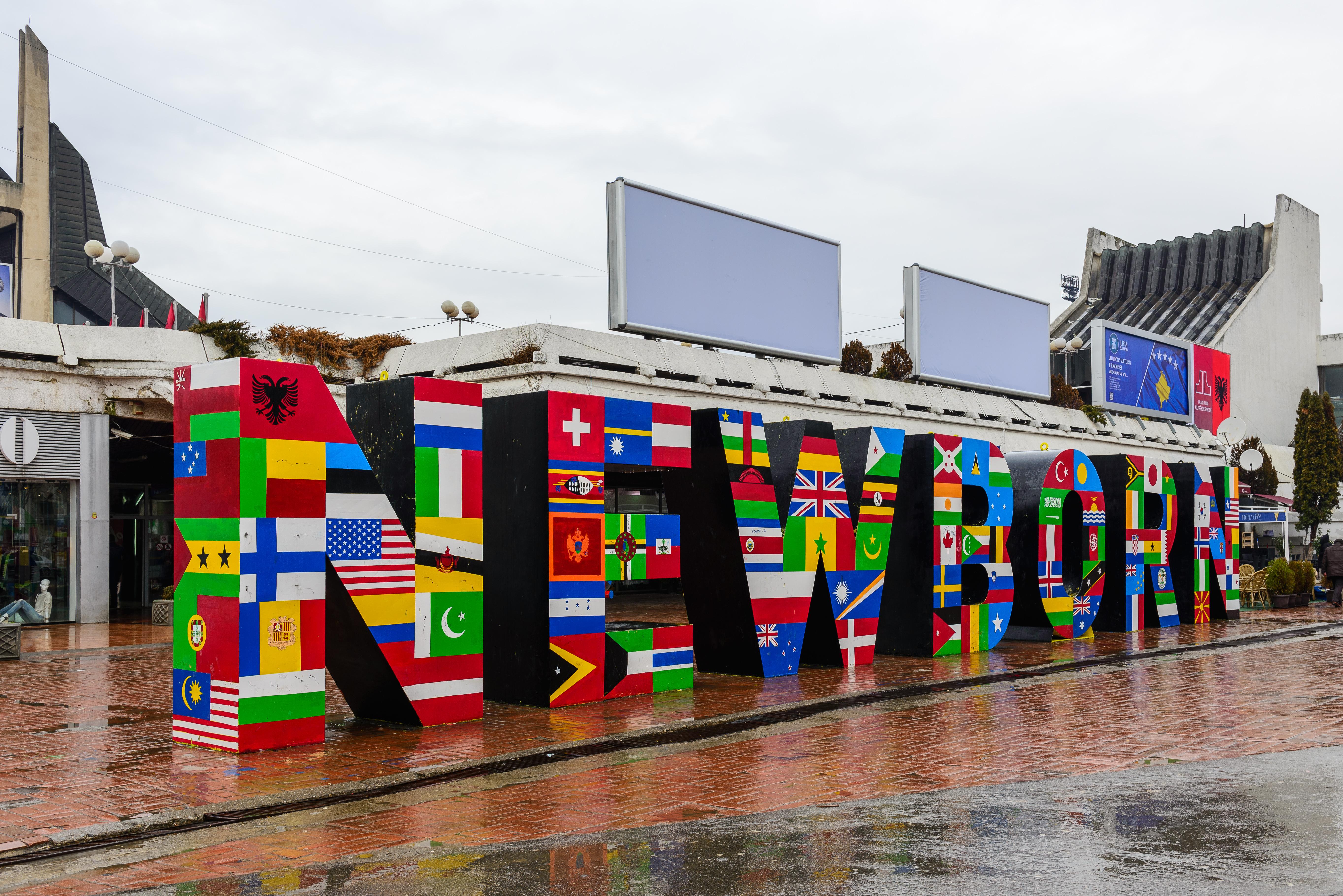 Depiction of Reconocimiento internacional de la independencia de Kosovo