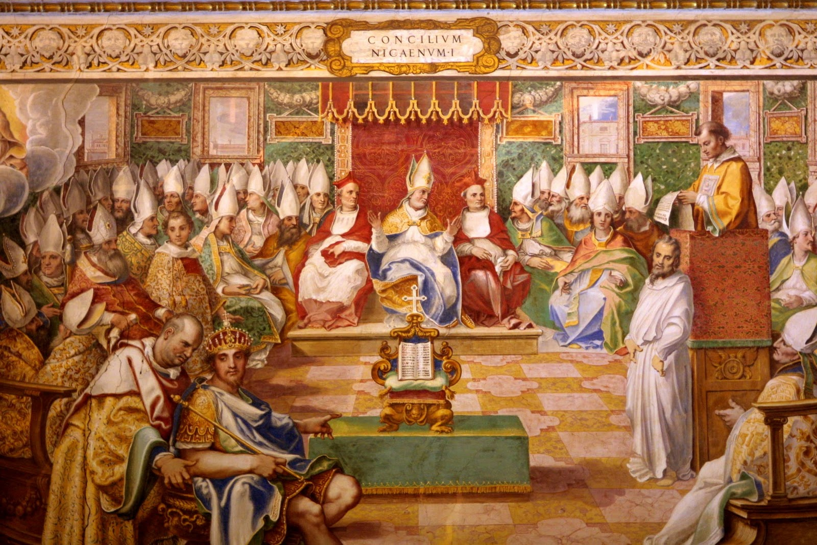 Image result for 325 – The First Council of Nicaea