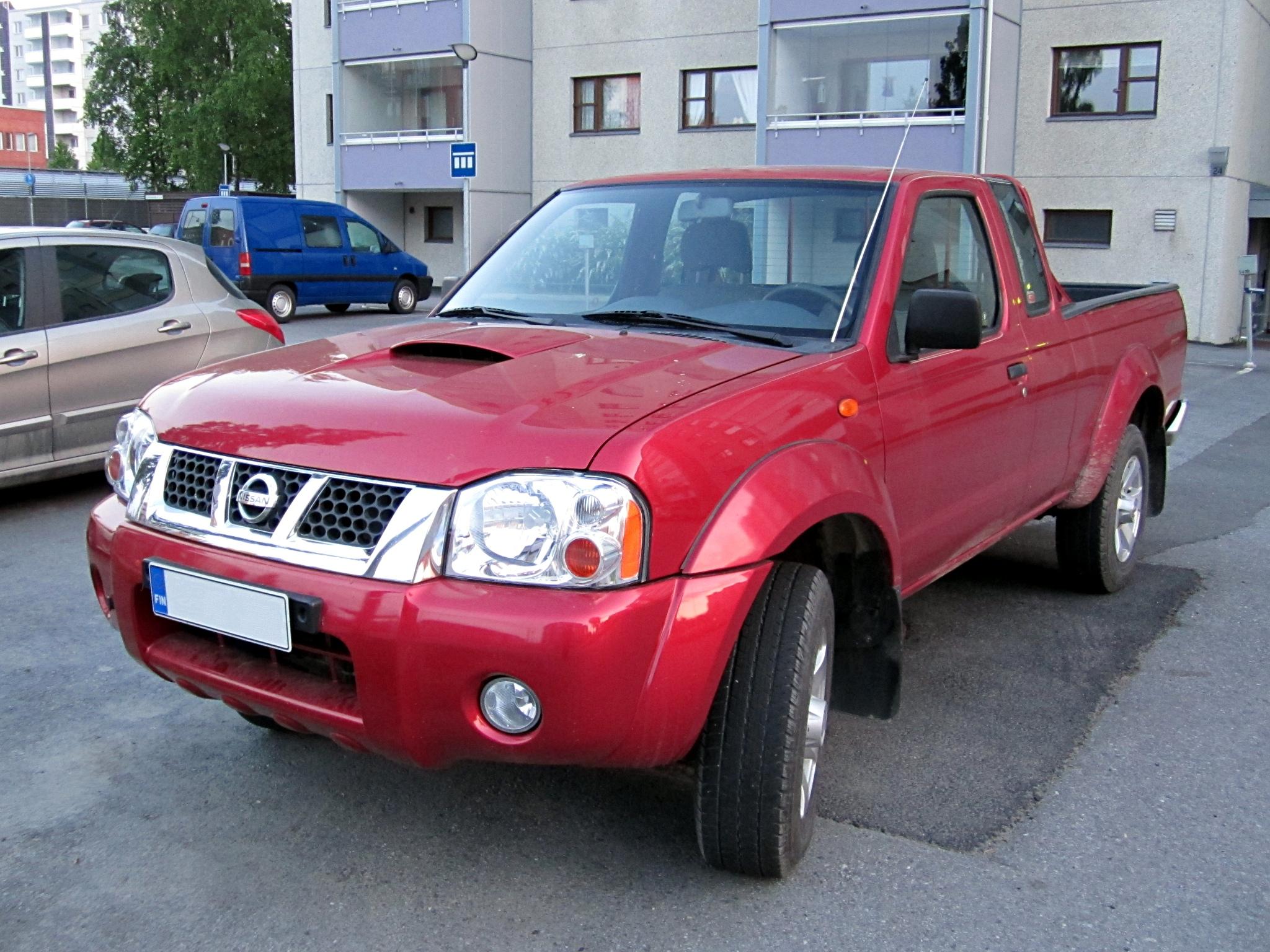 File Nissan Frontier Pickup Truck Jpg Wikimedia Commons