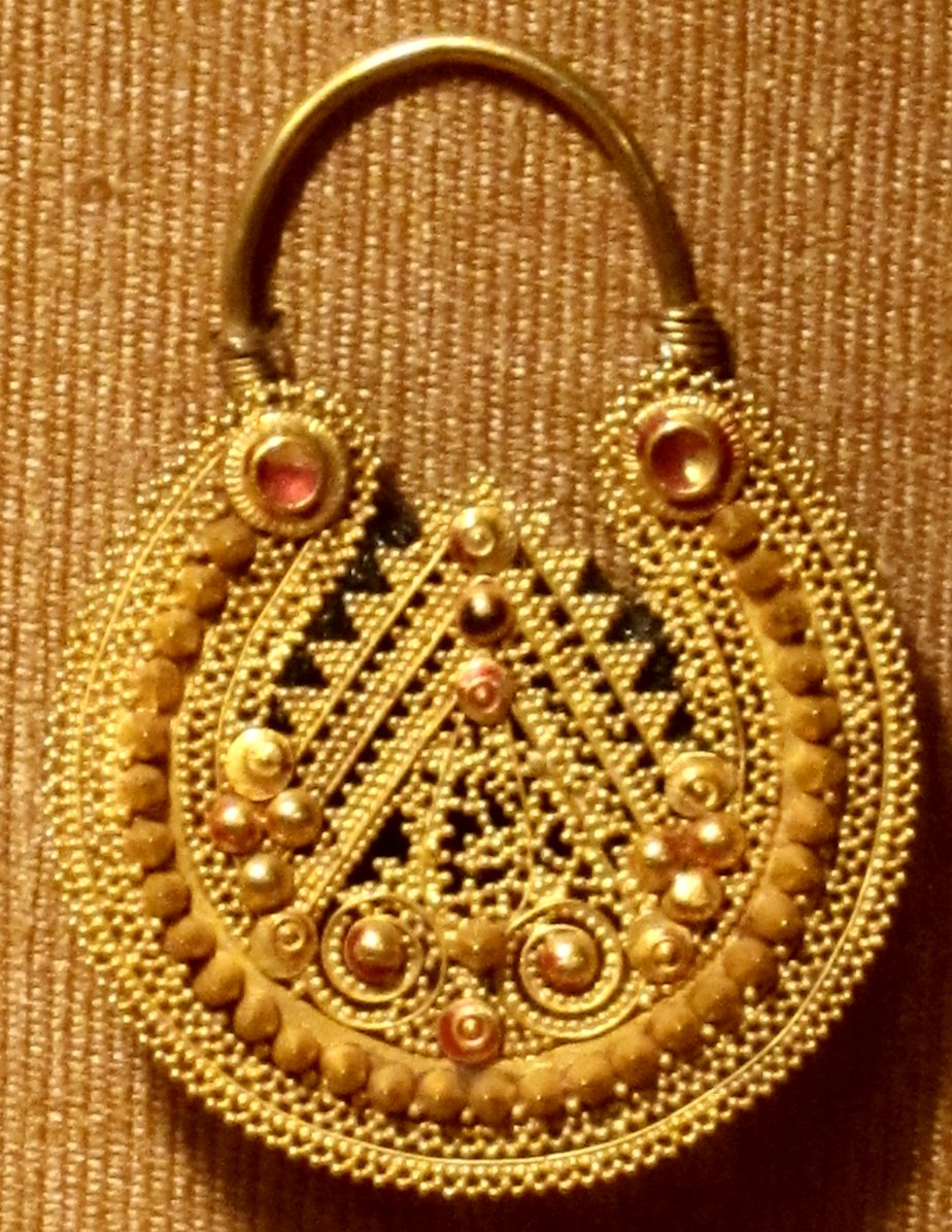 File Nose Ring Himachal Pradesh India 19th Century