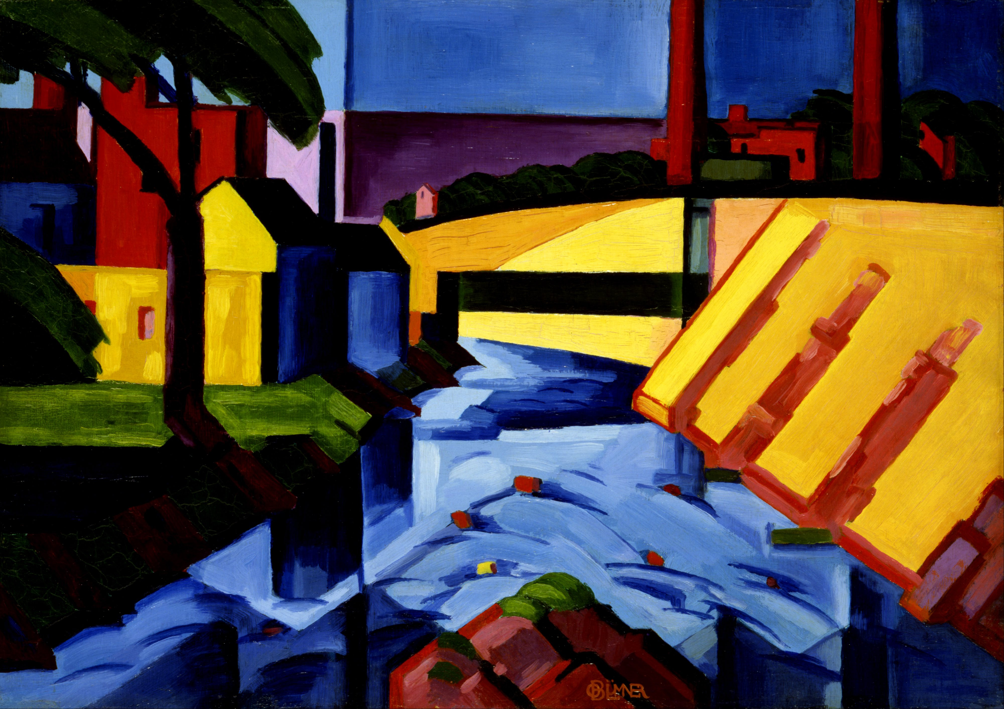 File:Oscar Bluemner - Evening Tones - Google Art Project ...