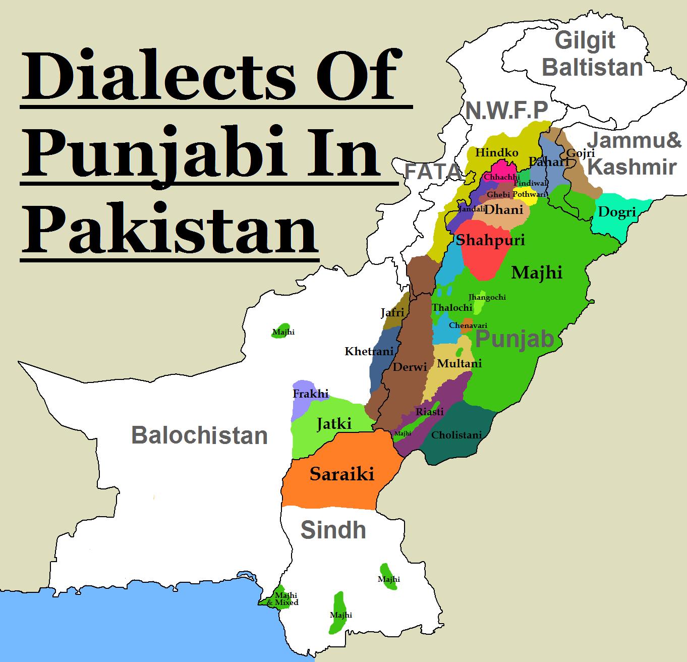 foto de File:Pakistan Punjabi Dialects PNG Wikimedia Commons