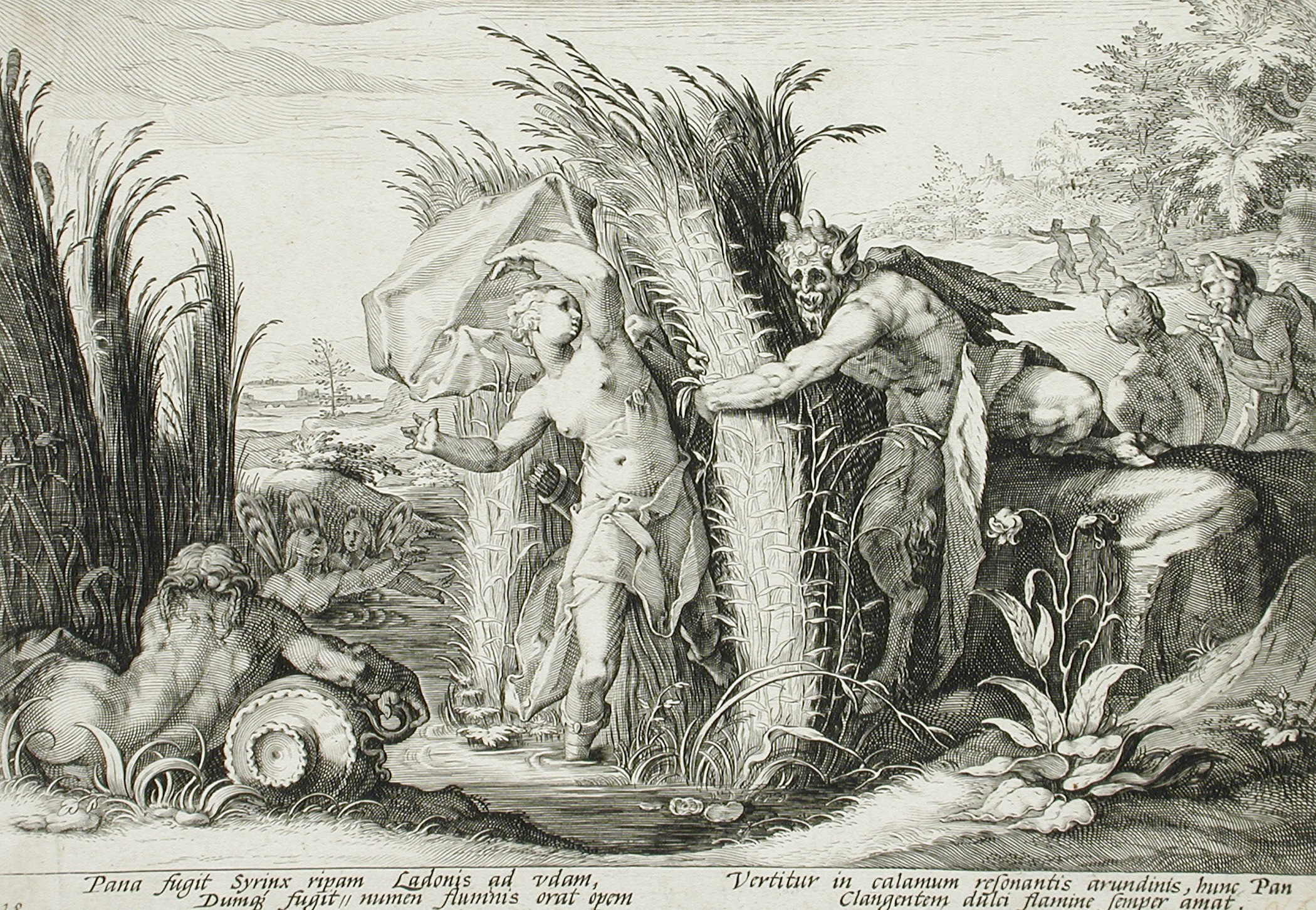 File Pan Pursuing Syrinx Who Is Changed Into A Reed Lacma