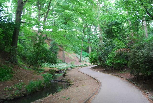Peasholm Glen. Peasholm Park - geograph.org.uk - 1899583