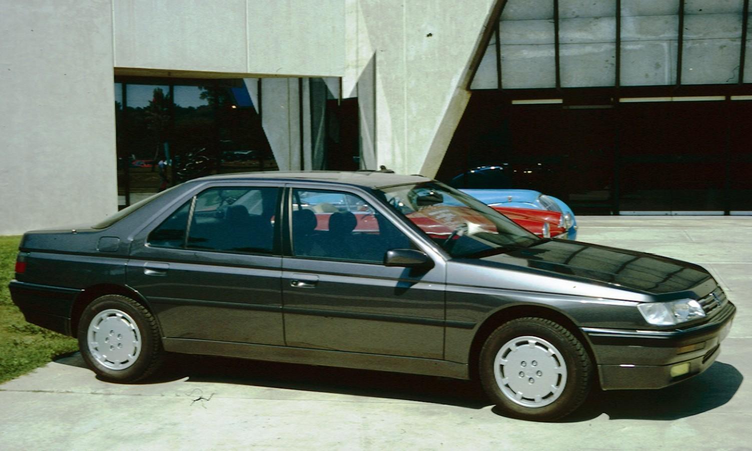 File Peugeot 605 In Profile Jpg Wikipedia