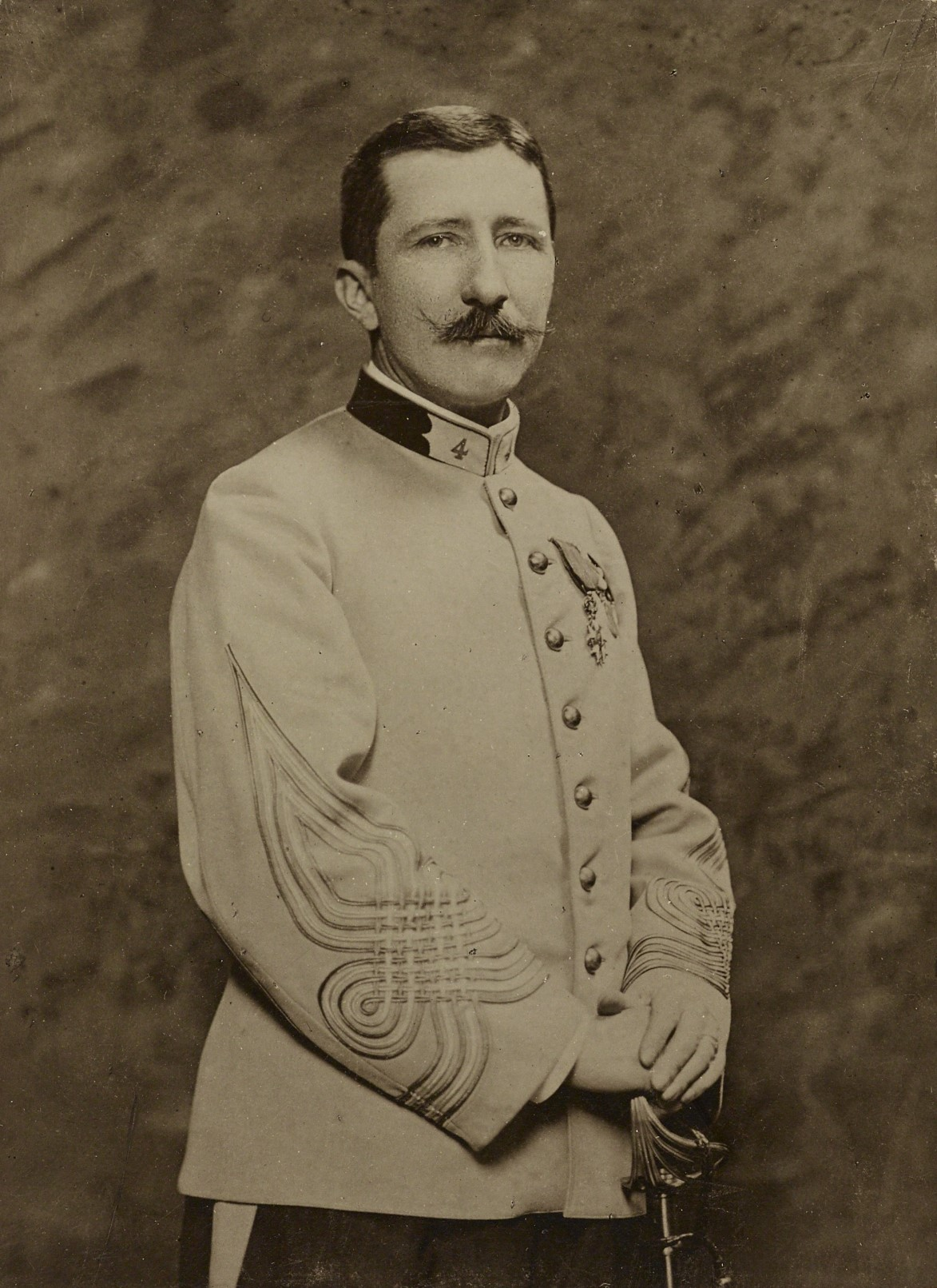 Photo du colonel Piquart - Affaire Dreyfus
