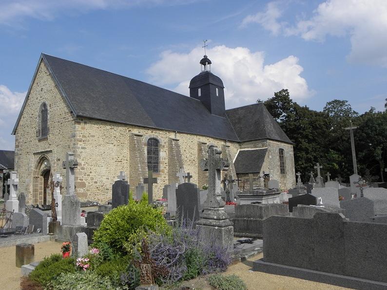 Église Saint-Martin à Poilley (50).