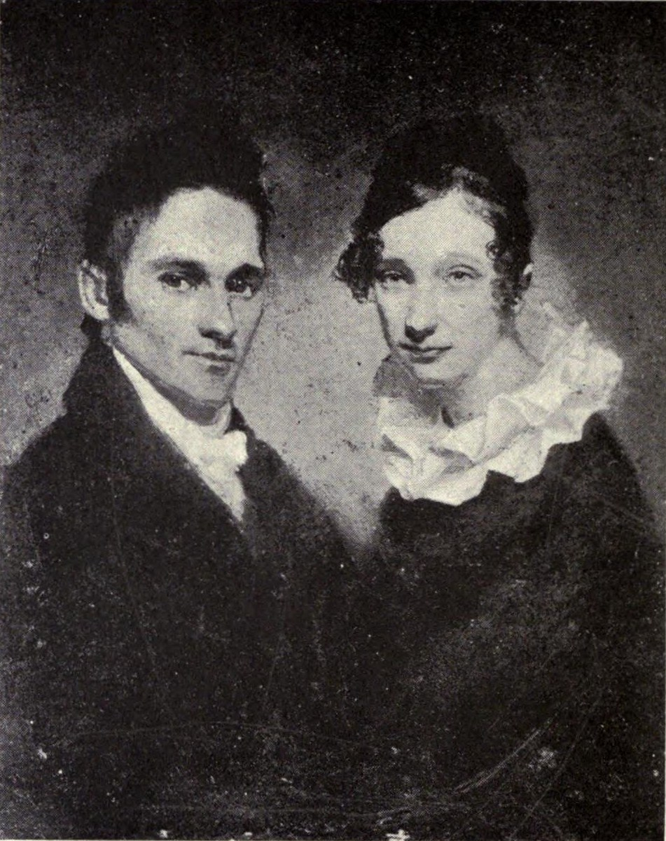 File:Portraits of Hiram and Sybil Moseley Bingham, 1819 ...