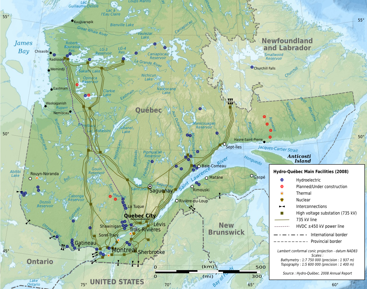 Filequebec map with hydro qubec infrastructures eng wikimedia filequebec map with hydro qubec infrastructures eng gumiabroncs Choice Image