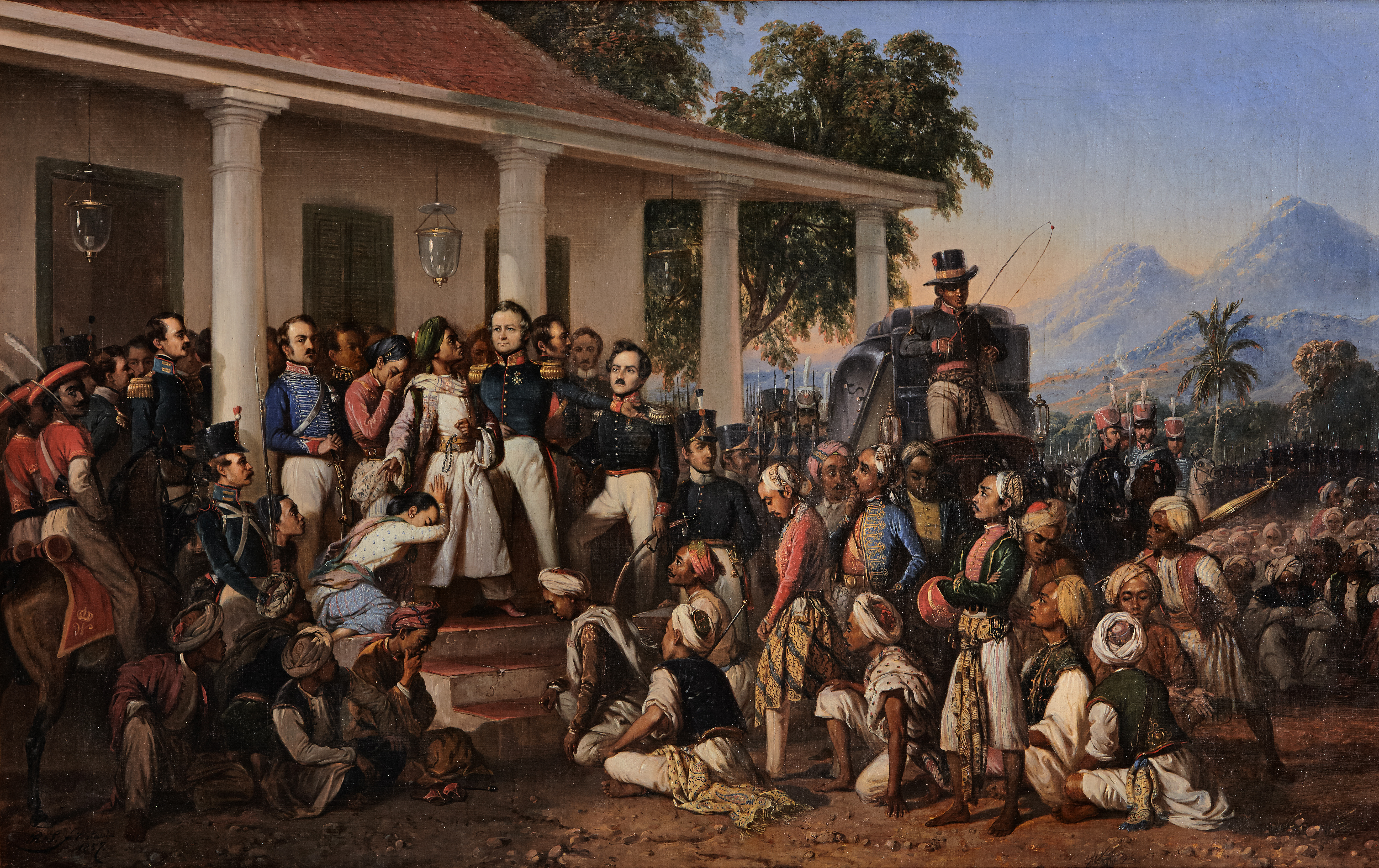 Penangkapan Pangeran Diponegoro Bahasa Melayu
