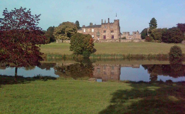 Ripley Castle reflections - geograph.org.uk - 1490758