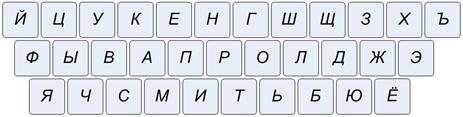 русская клавиатура на компьютере - фото 9