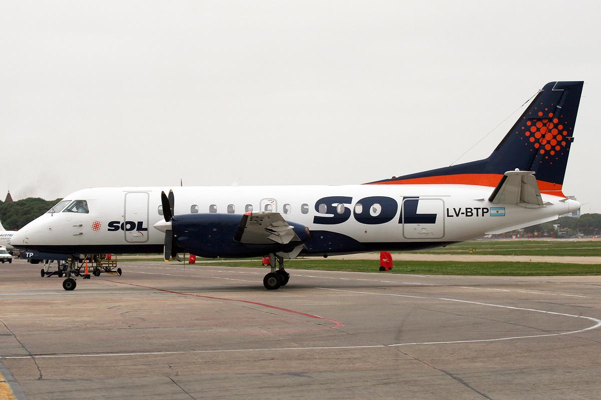 Sol Líneas Aéreas - Wikipedia