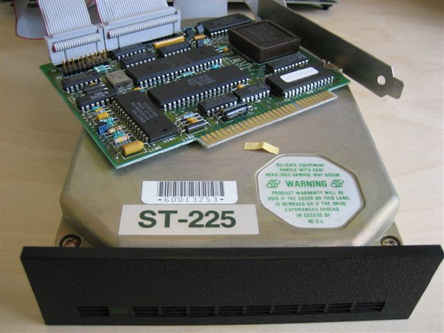 ST 225 20MB drive and WDC controller