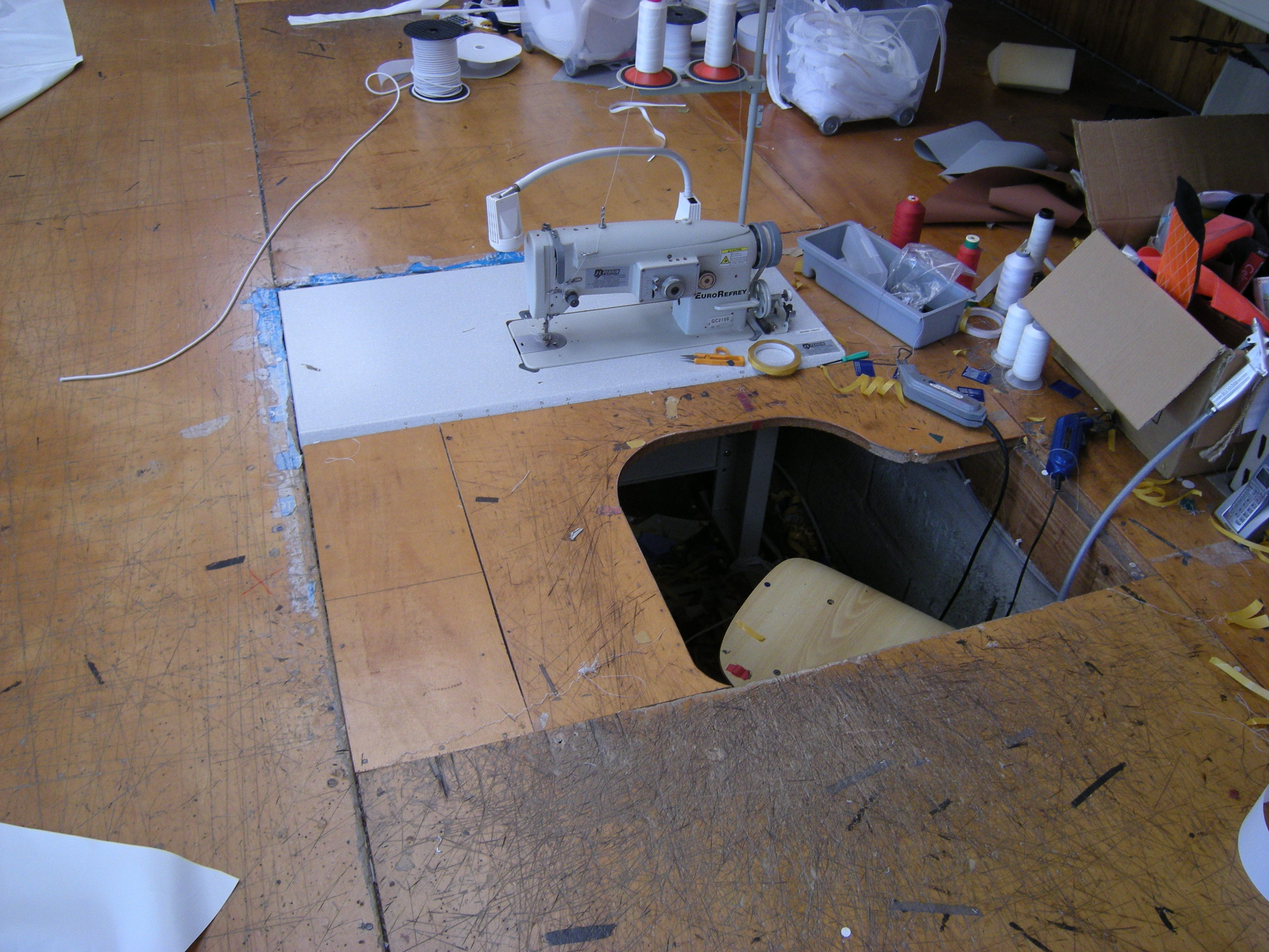 sailmakers sewing machine