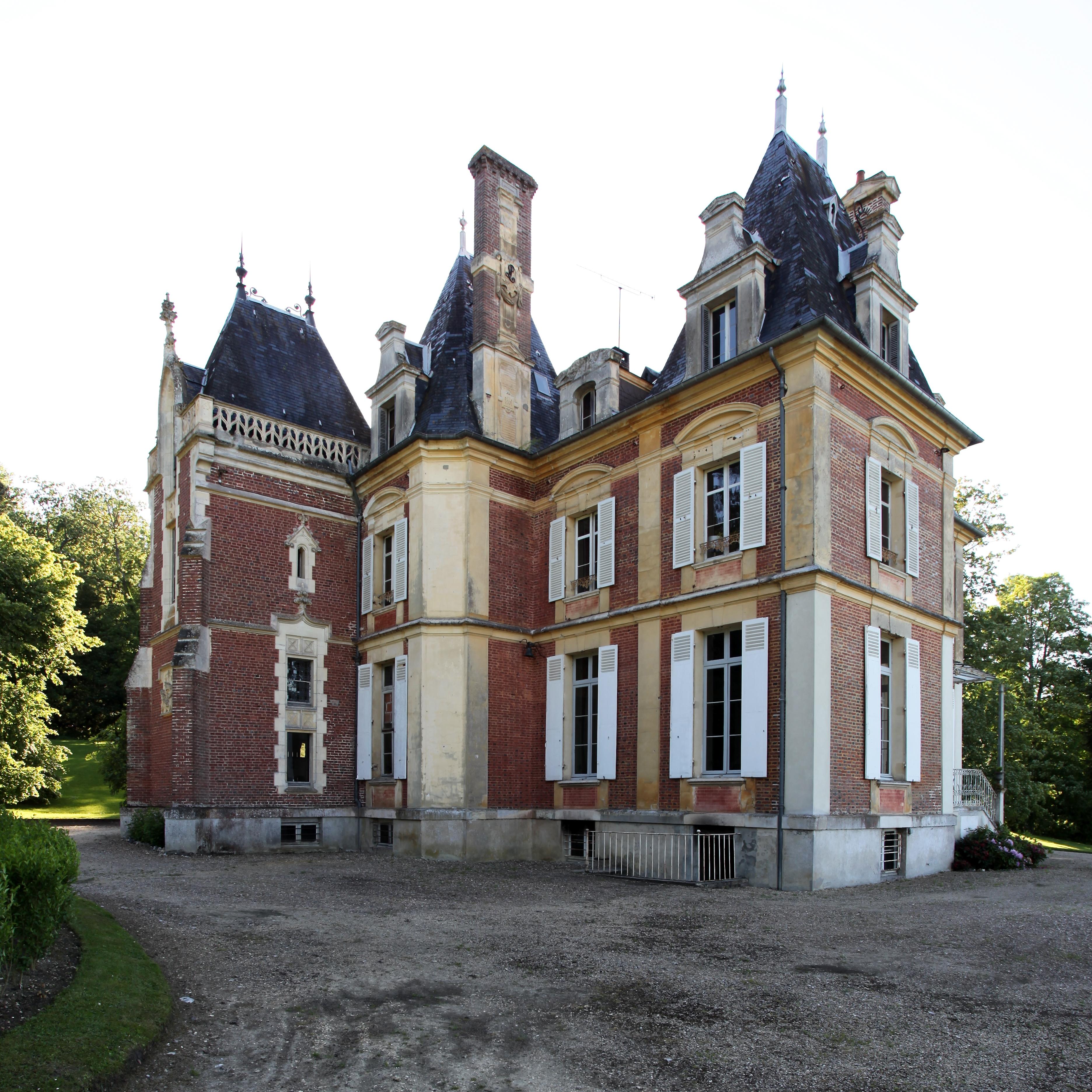 file saint martin du mesnil oury chateau 2 jpg wikimedia commons. Black Bedroom Furniture Sets. Home Design Ideas