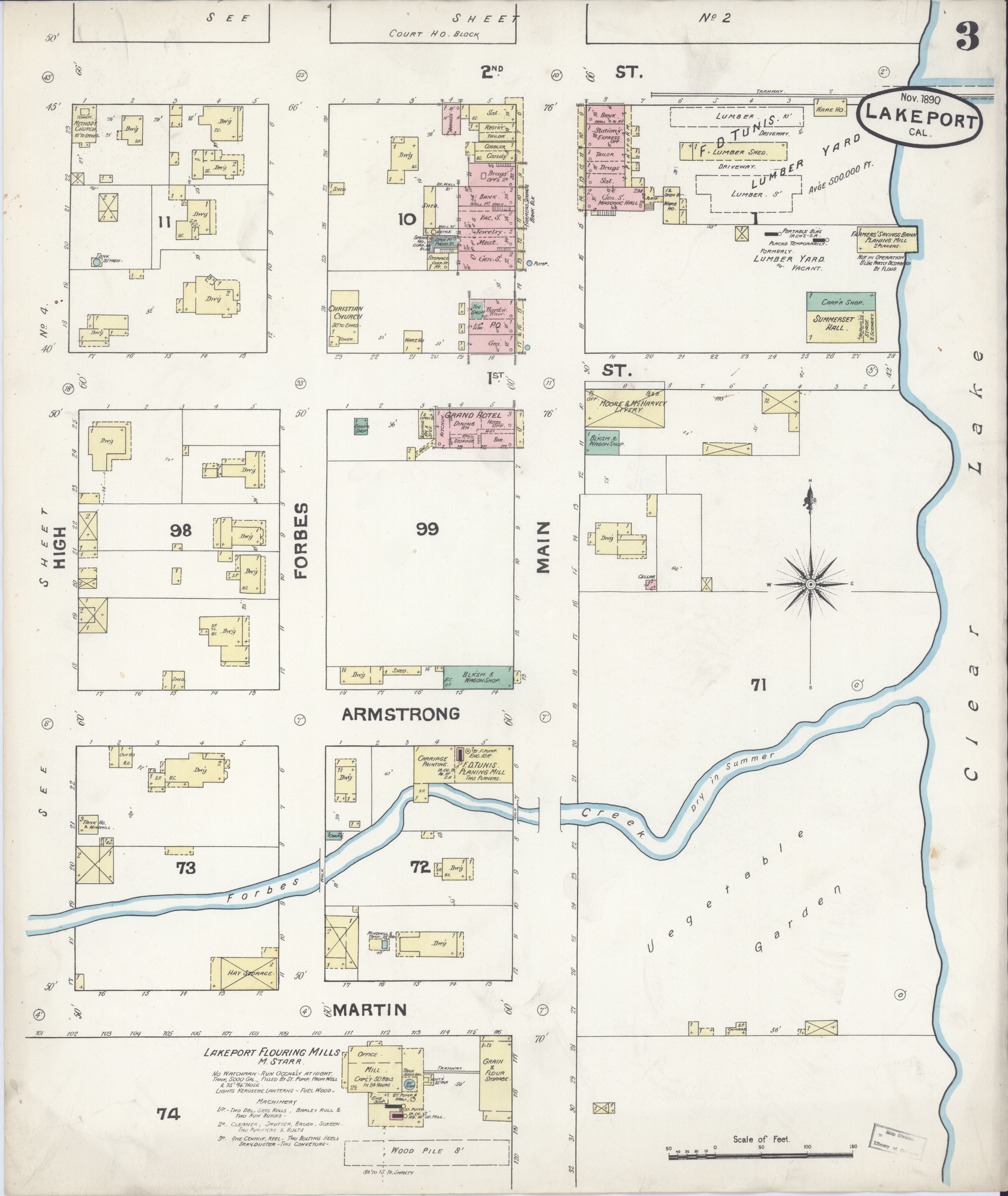 File Sanborn Fire Insurance Map From Lakeport Lake County