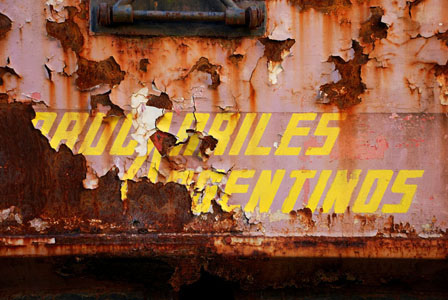 Publicidades viejas de Ferrocarriles Argentinos