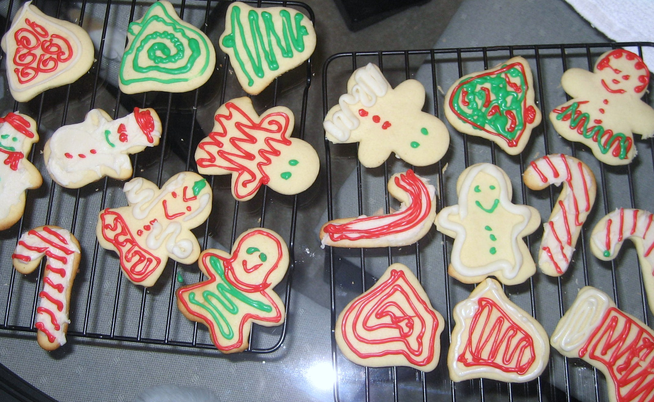 File Snowmen Bells And Candy Cane Sugar Cookies December 2007 Jpg