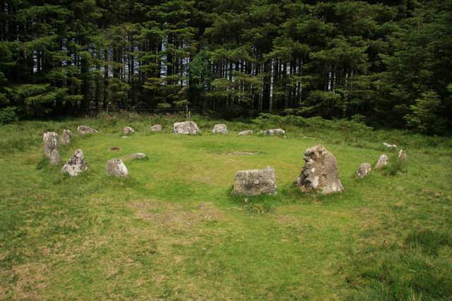 Soussons Down stone circle - geograph.org.uk - 1368199