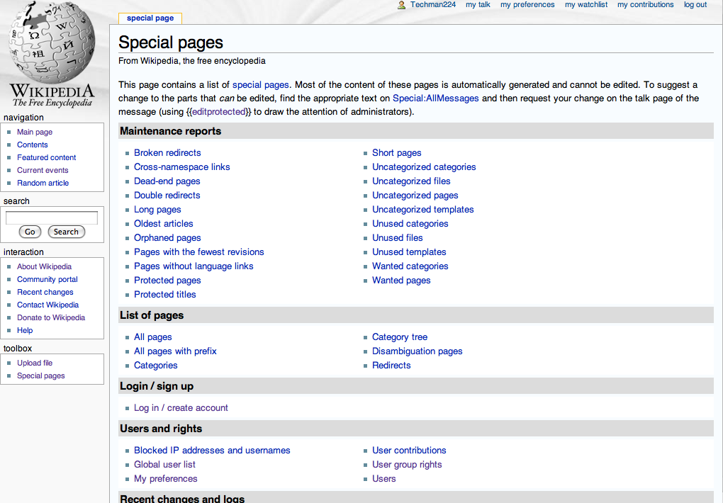 opinions on english wikipedia
