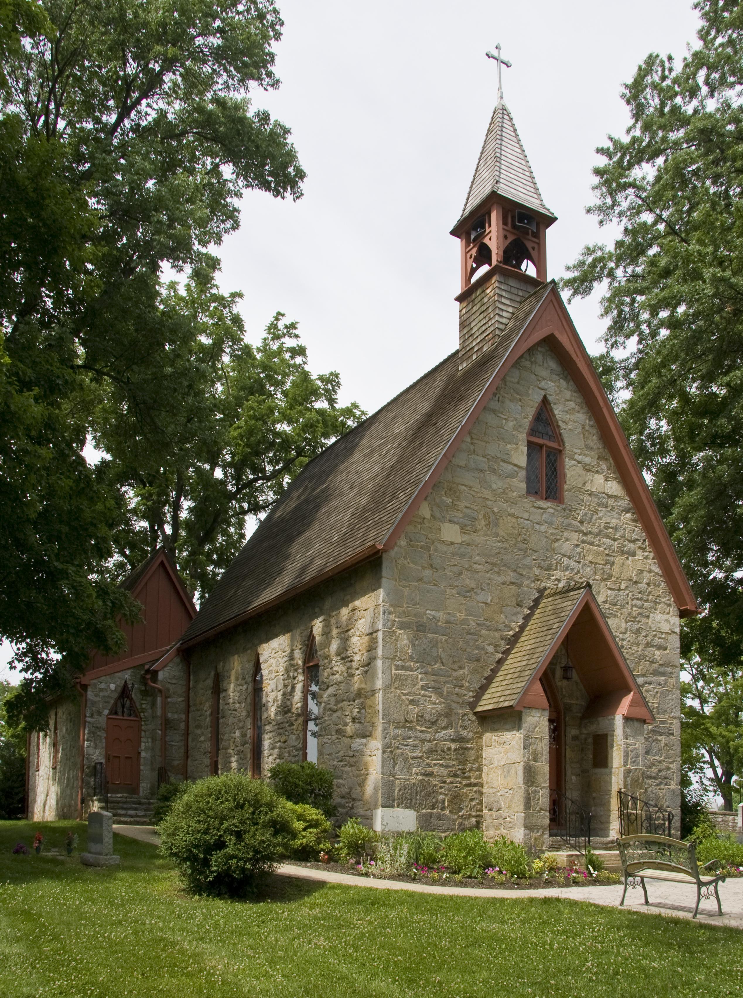 File St Marks Church Lappans Maryland Jpg Wikimedia