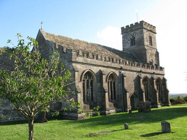 St Michael and All Angels church from the north