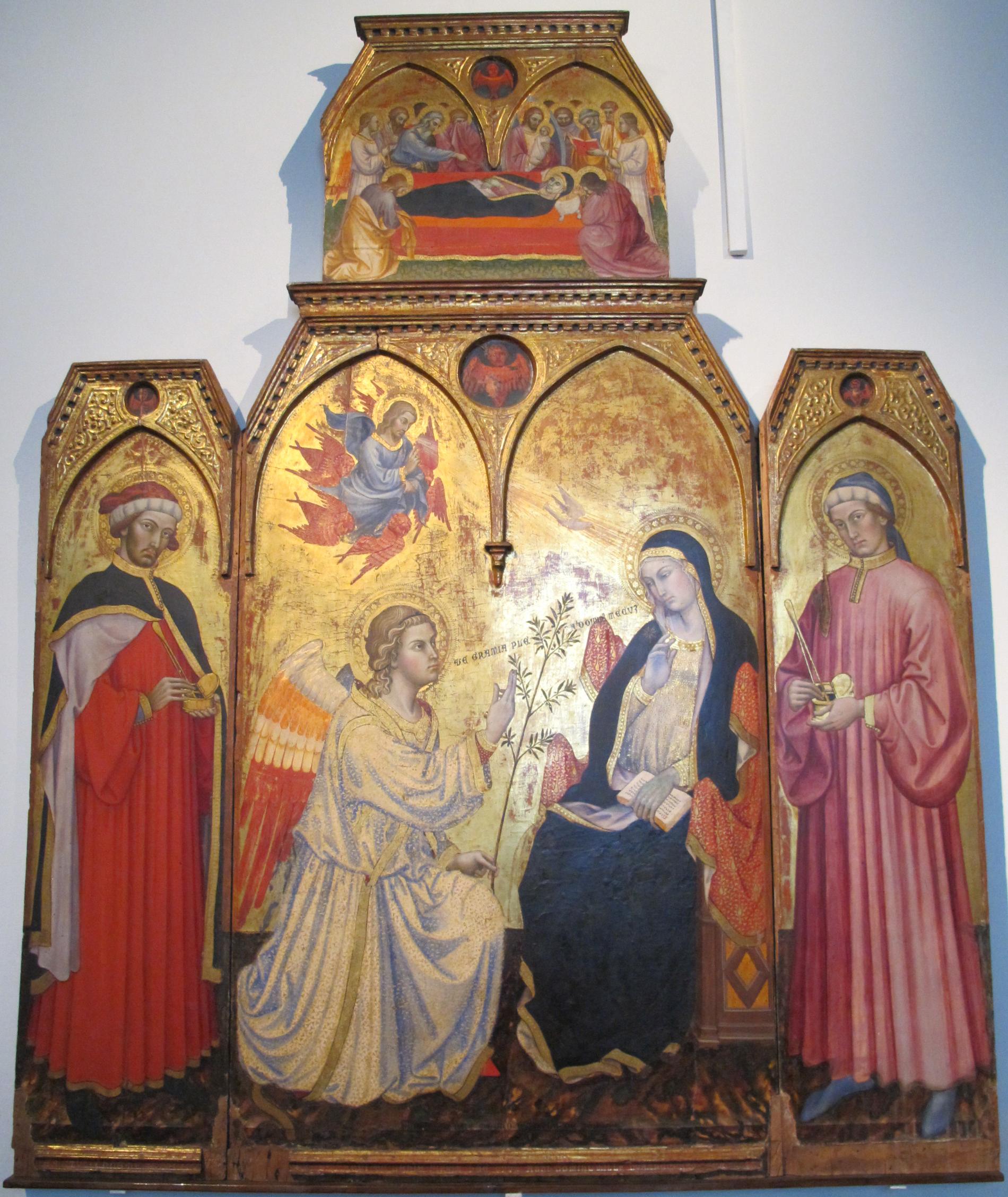 File Taddeo Di Bartolo Annunciazione Jpg Wikimedia Commons