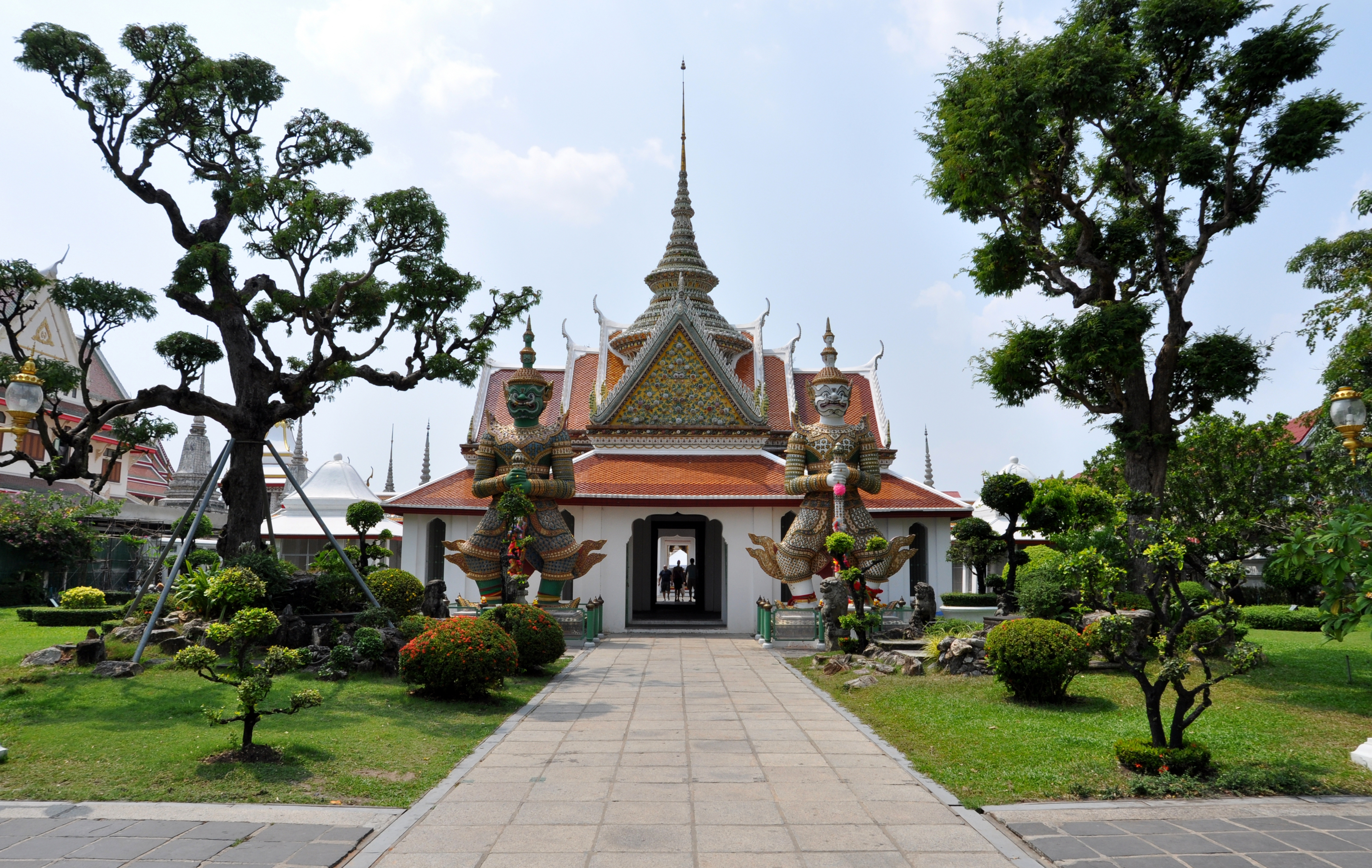 New featured picture: User:WPPilot\u0027s photograph of the front entrance of the Ordination Hall of the Buddhist temple Wat Arun in Bangkok, Thailand