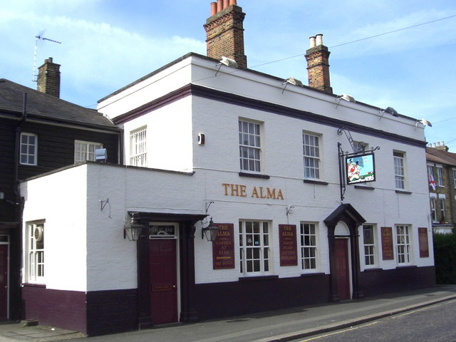 Creative Commons image of The Alma in Sidcup