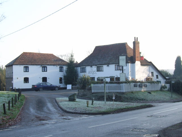 Creative Commons image of The Angel Inn in West Malling