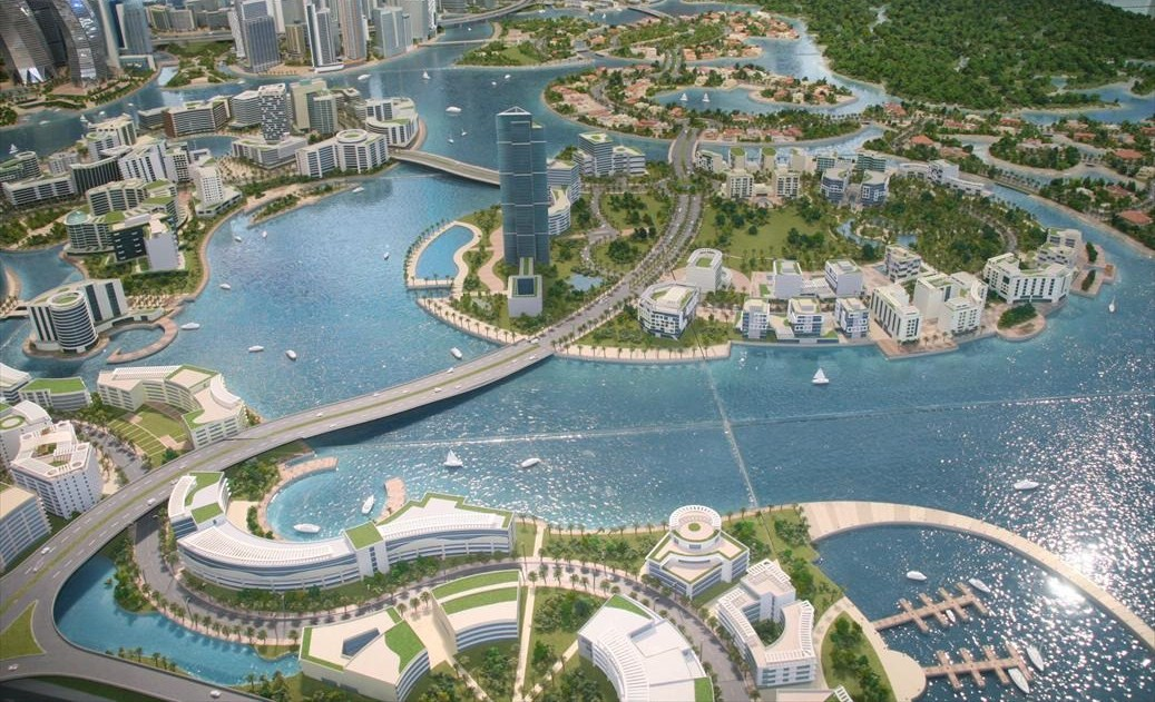 7 Buildings of the Future in Dubai The Lagoons Model Pict 2