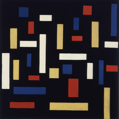 Theo van Doesburg, Composition VII (the three graces), 1917