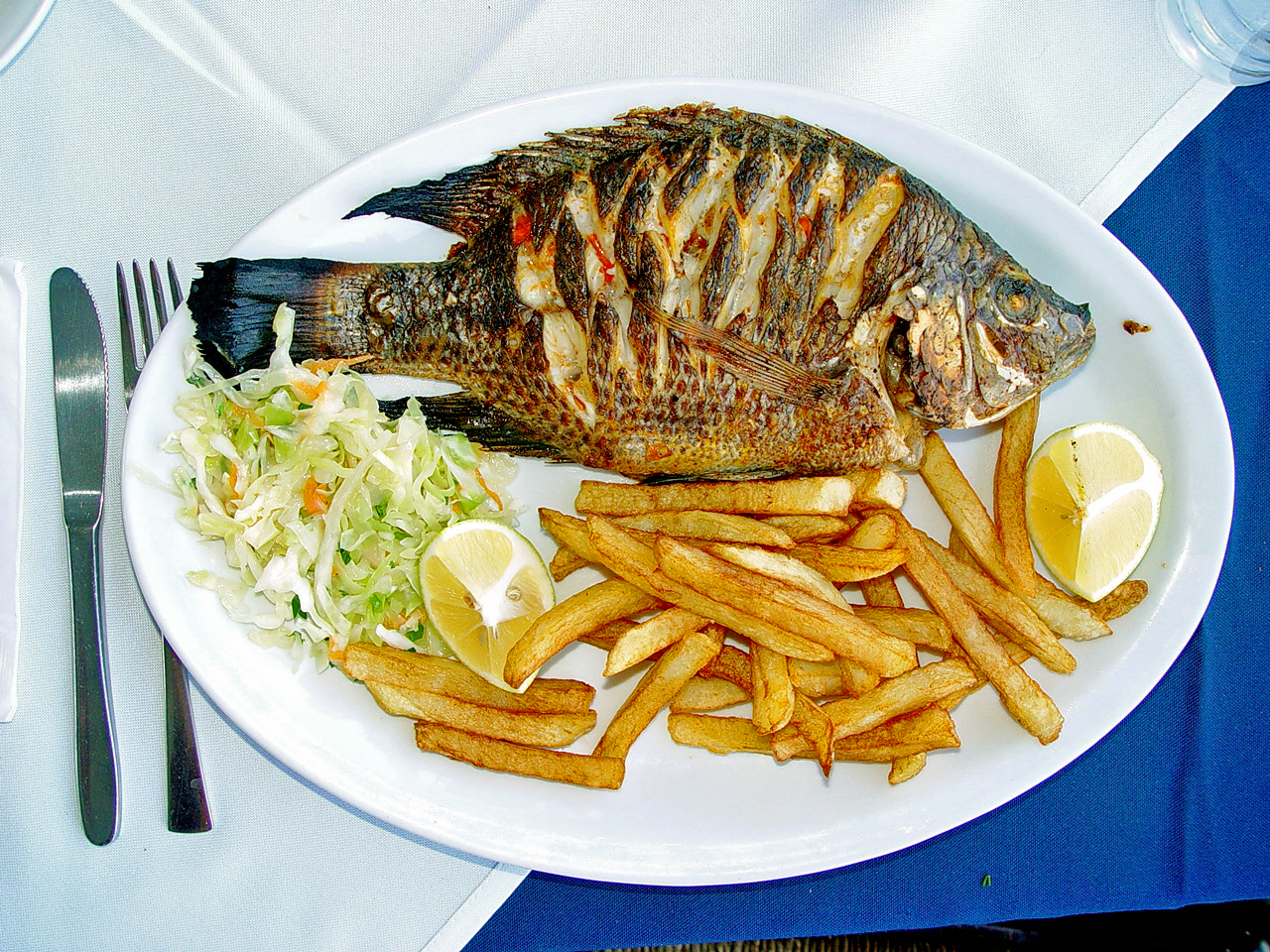 Whole fish meal