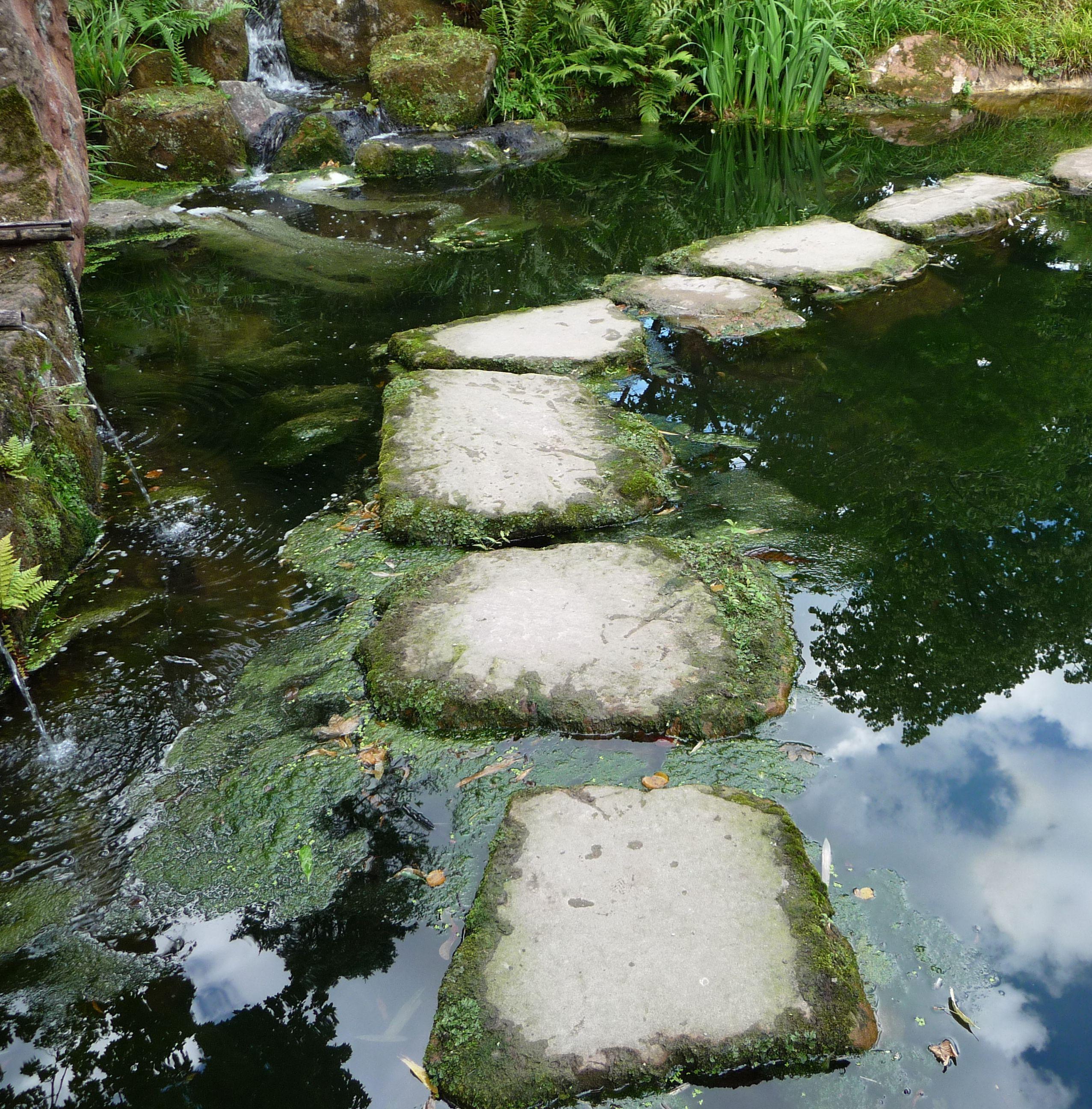 file:trittsteine im japanischen garten - panoramio - wikimedia