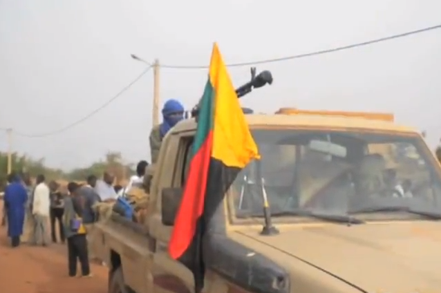 Tuareg rebel in northern Mali