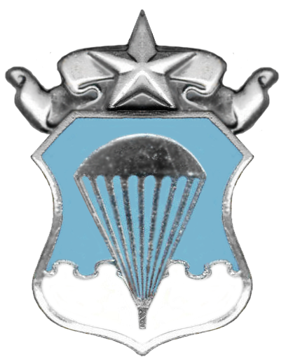 "Armée US :Le Parachutist Badge, surnommé ""Jump Wings"" USAF_Master_Parachutist_Badge-Historical"