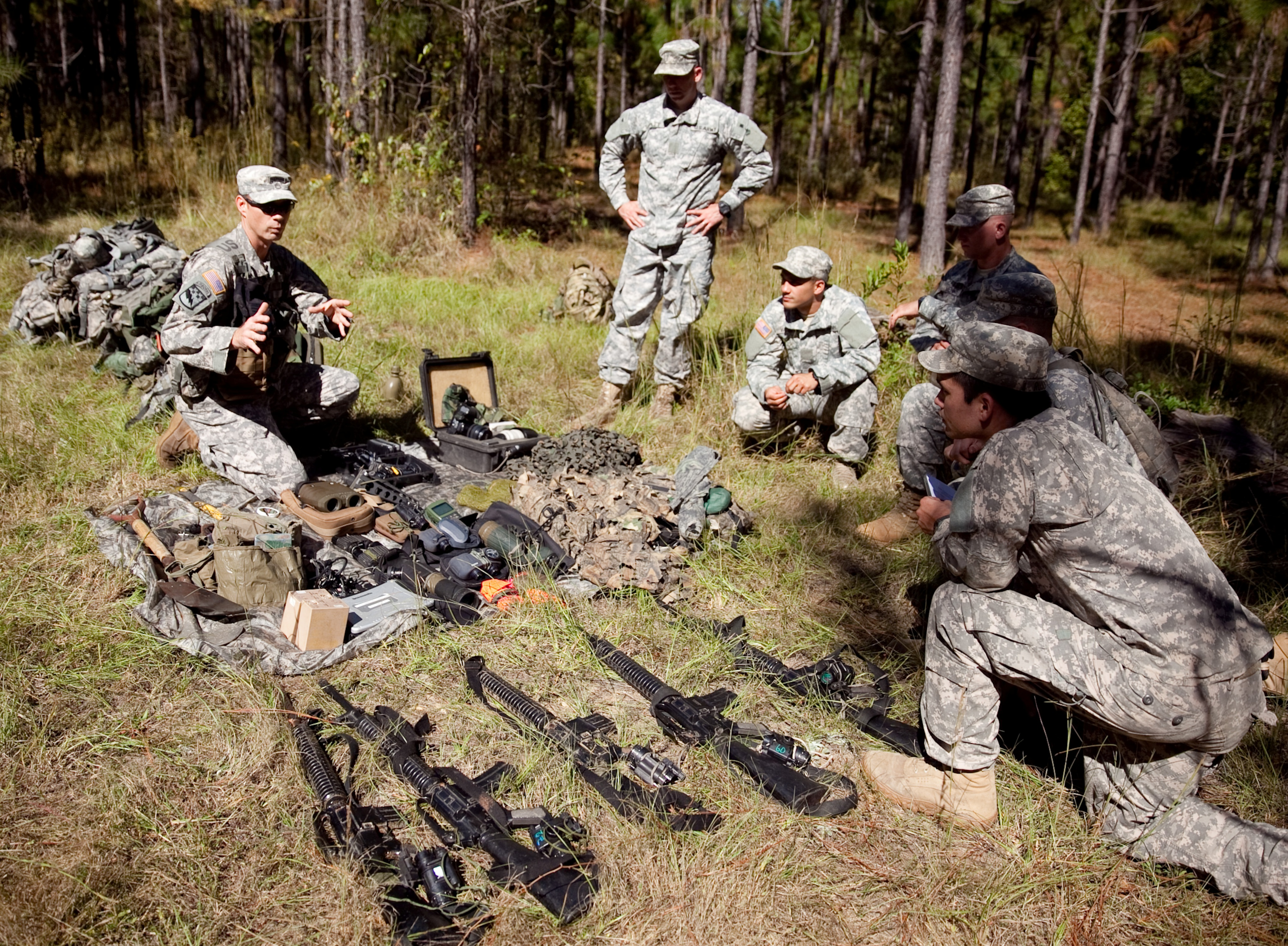 United States Army Reconnaissance And Surveillance Leaders Course