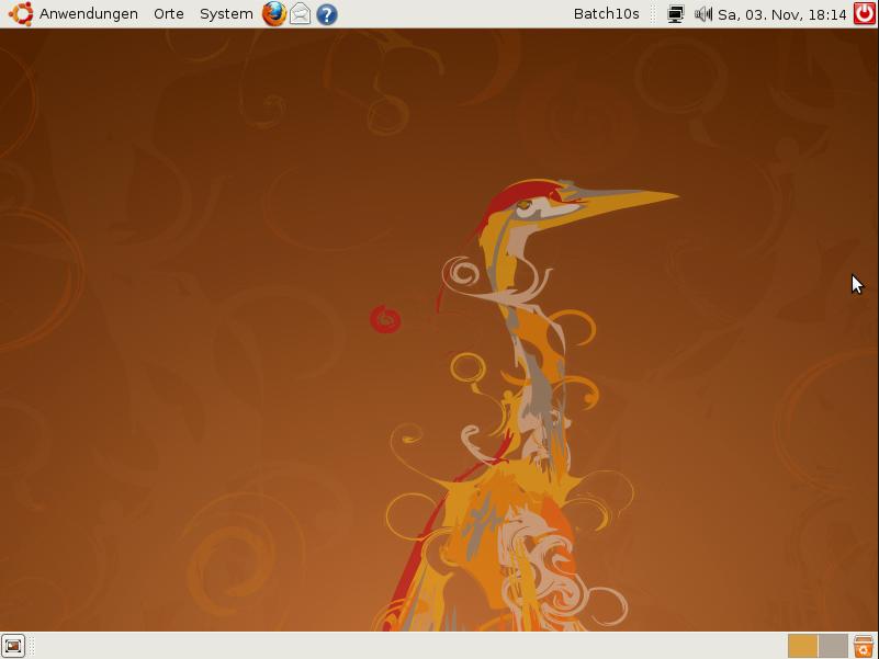 Ubuntu 8.04.4 Desktop