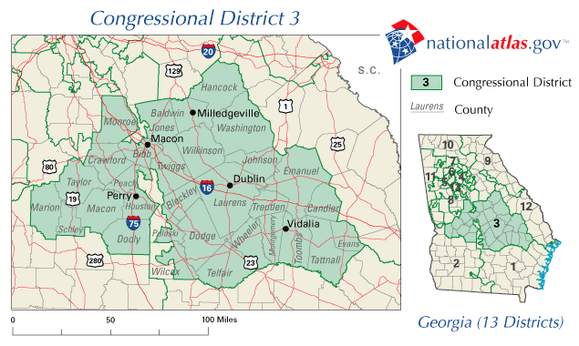 Fileunited States House Of Representatives Georgia District Us House Of Representatives Georgia District Map