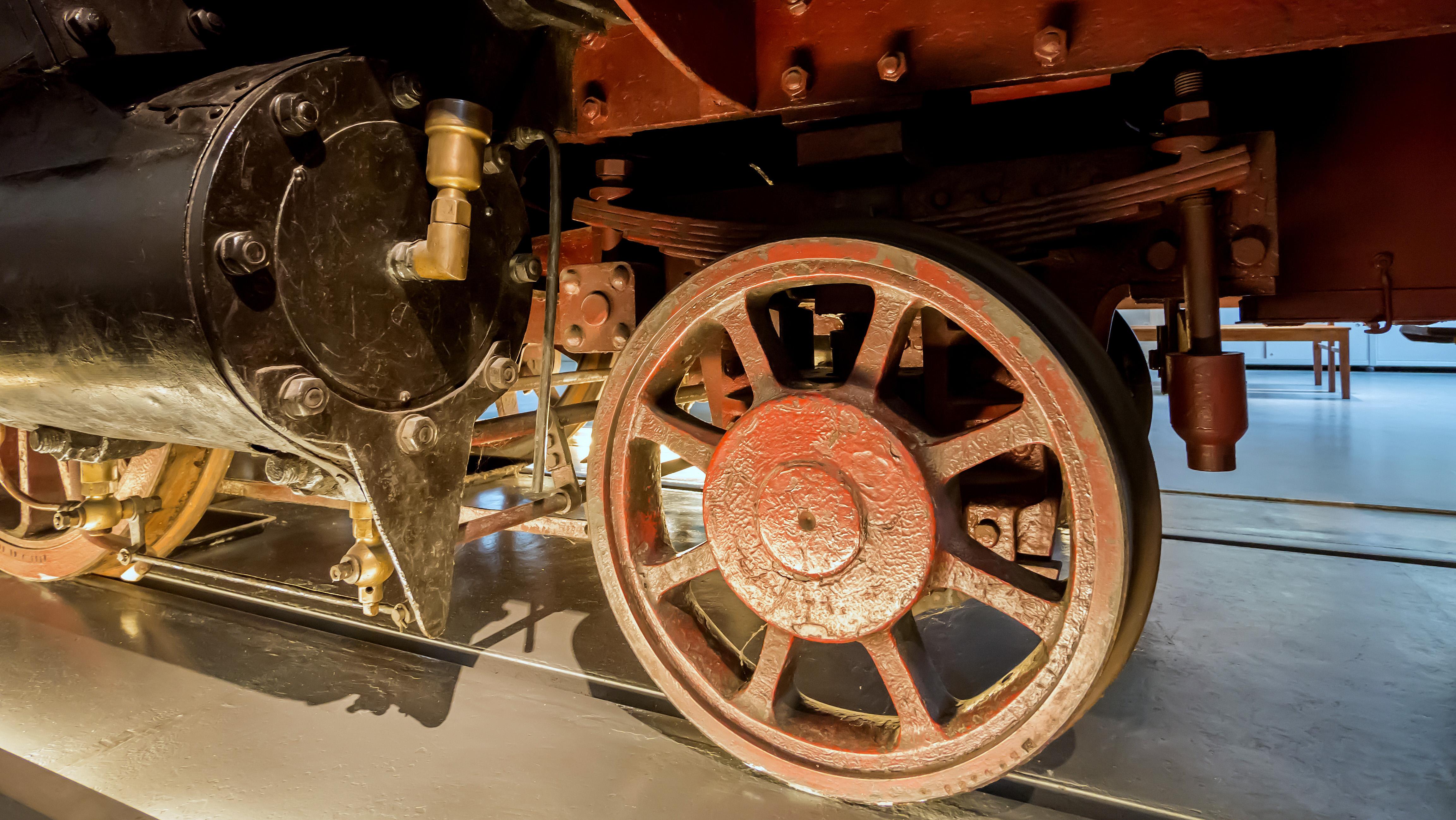 Datei:Verkehrsmuseum Dresden Güterzug Tenderlok Muldenthal